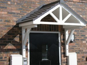 GRP Overdoor Canopies & Canopies | Carports | Commercial Shelters |The Canopy Shop