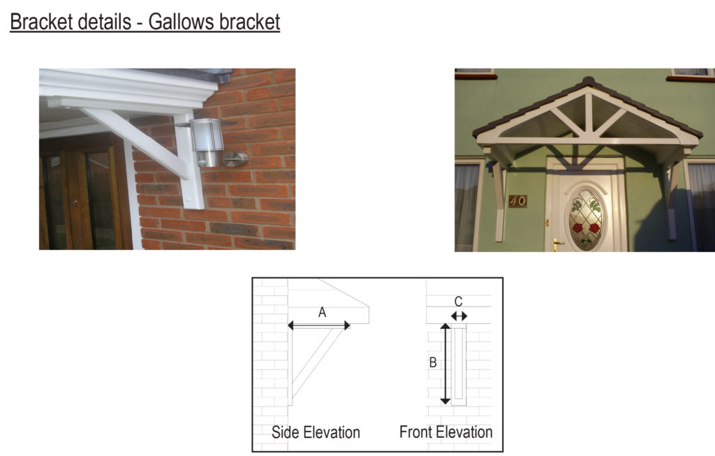 Gallows bracket information