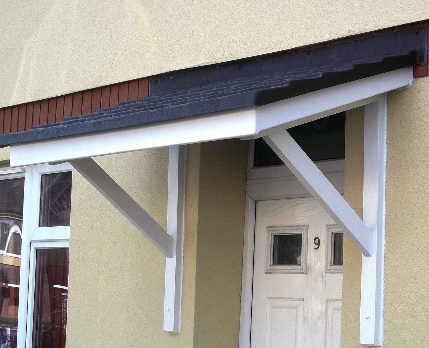 Front Door Canopy Uk Amp The Medway Overdoor Canopy