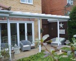 Glass Canopy for Garden