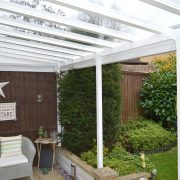 Glass Roof Patio Canopy