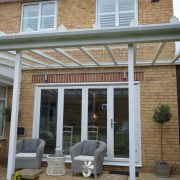 Glass Patio Canopy