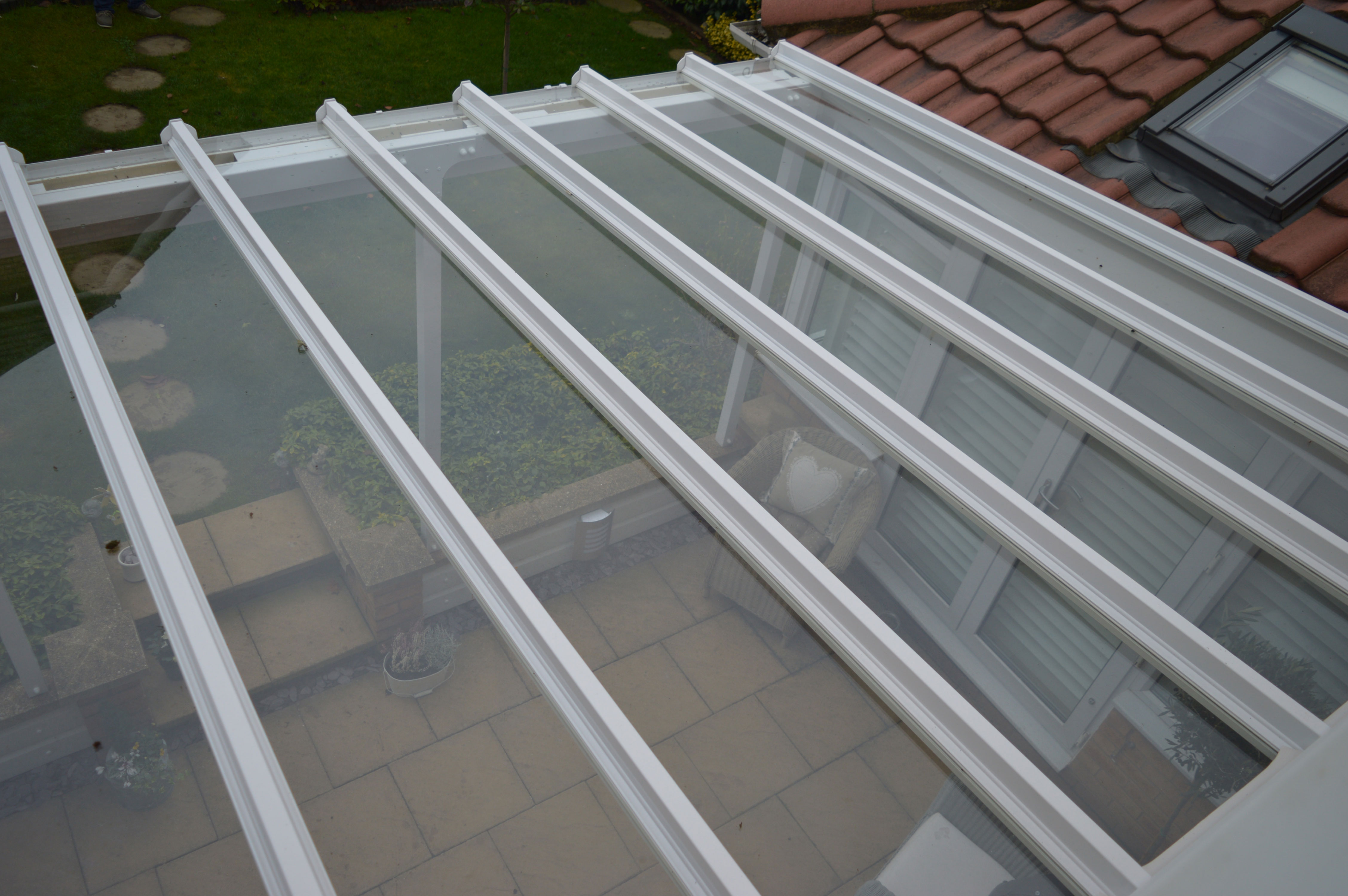 Elegance Glass Roof Canopy 30m Projection The Canopy Shop