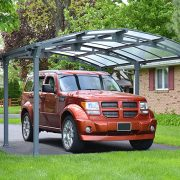 Crescent Curved Carport