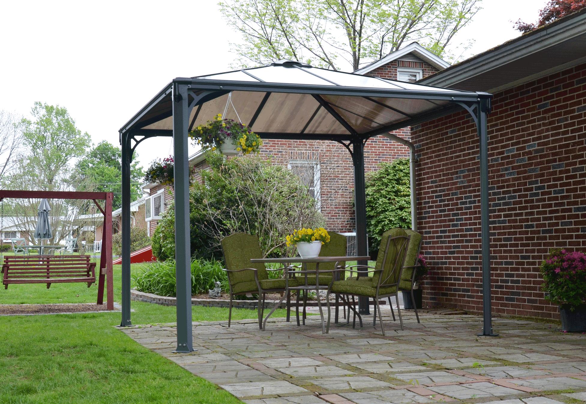 Harlington 3000 garden gazebo the canopy shop for Amapola jardin de infantes palermo